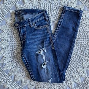 Silver Tuesday Skinny Size 30